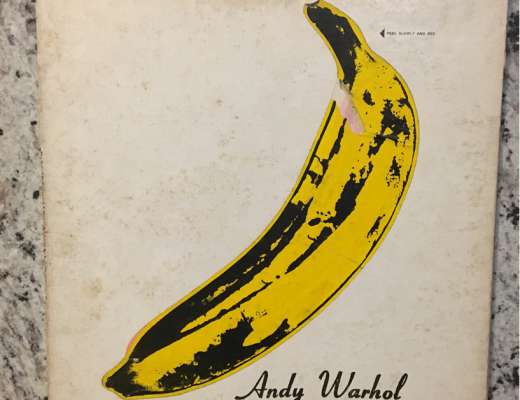 Andy warhol banana album cover