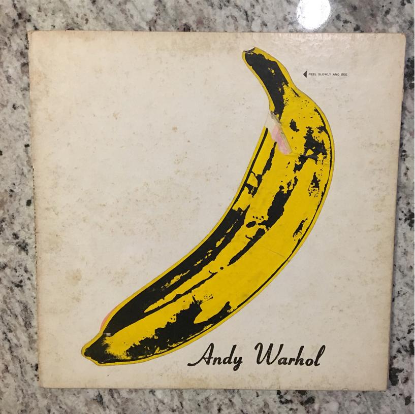 Andy Warhol Banana album cover